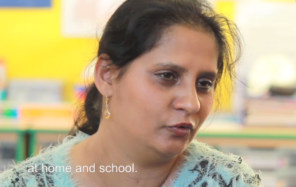 Families create a film about going to school in Glasgow