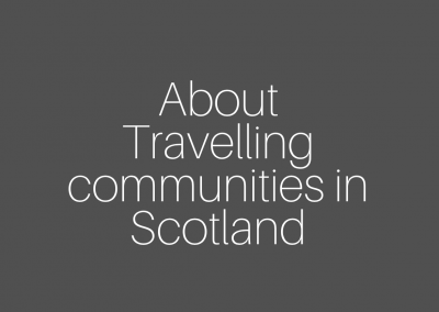 Travelling communities in Scotland