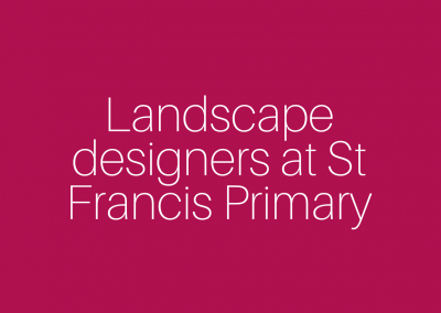 Landscaping at St Francis Primary