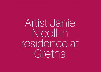 Artist at Gretna